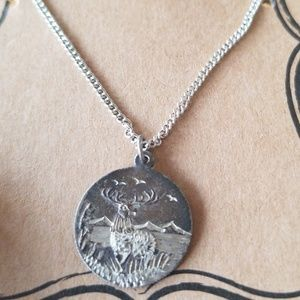 Other - Stag deer necklace
